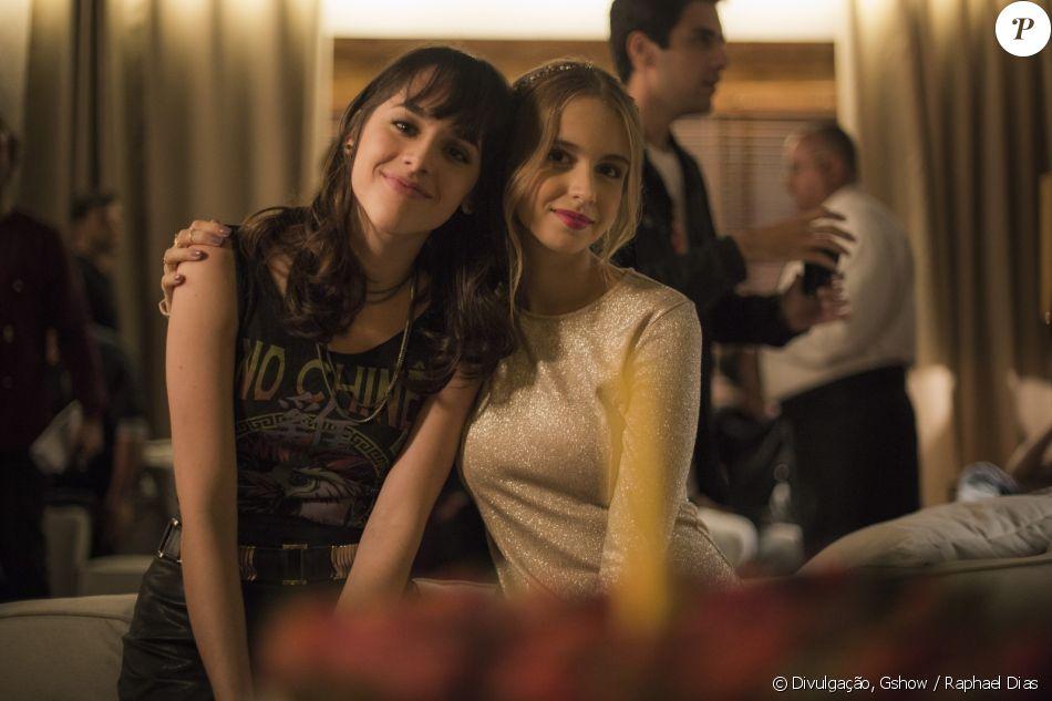 Lica (Manoela Aliperti) vai descobrir que Clara (Isabella Scherer) é sua irmã em 'Malhação - Viva a Diferença'