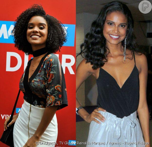 Heslaine Vieira e Aline Dias disputaram o papel de Joana de 'Malhação - Pro Dia Nascer Feliz', que acabou ficando com Aline