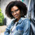 Na novela teen 'Malhação - Viva a Diferença', Heslaine Vieira vive a hacker e nerd Ellen, que aprendeu a lidar com computadores desde criança, ao ajudar seu pai na oficina que ele tinha