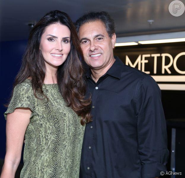 Após dois términos, Lisandra Souto marcou casamento com o empresário Gustavo Fernandes