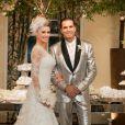 Latino e Rayanne Morais se casaram na noite desta quarta-feira, 12 de março de 2014