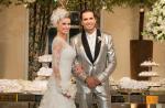 Latino e Rayanne Morais se casam no Rio e convidados saem de festa mais cedo