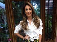 Filho de Patricia Poeta aprova corpo magro da mãe, que perdeu 10kg:'Supercurtiu'