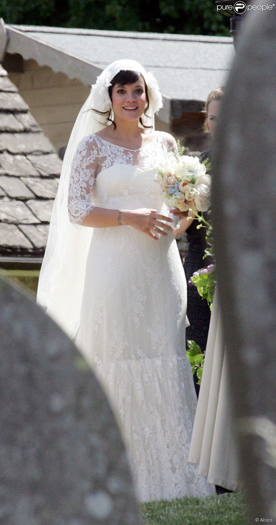 Lily Allen casou-se com Sam Cooper em 2011