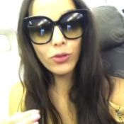 Ex-BBB Emilly reclama de companhia aérea durante voo: 'Estou de cara'. Vídeo!