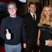 Luciano Huck dá parabéns para noivo de Eliana no 'Caldeirão': 'Pai de menina'