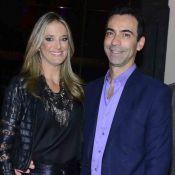 Ex de Ticiane Pinheiro, Cesar Tralli presenteia apresentadora com quadro: 'Amei'