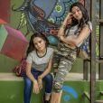 K1 (Talita Younan) e K2 (Carol Macedo) vão perturbar as Five em 'Malhação - Viva a Diferença'