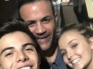 Larissa Manoela e Thomaz Costa vão juntos a culto em São Paulo: 'Uma benção'