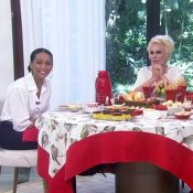 Taís Araújo avisou Ana Maria Braga que não comia abóbora: 'Contei no intervalo'