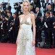 A modelo russa Daria Strokous de Christian Diorna cerimônia de abertura da 70ª edição do Festival de Cannes, no sul da França, nesta quarta-feira, 17 de maio de 2017