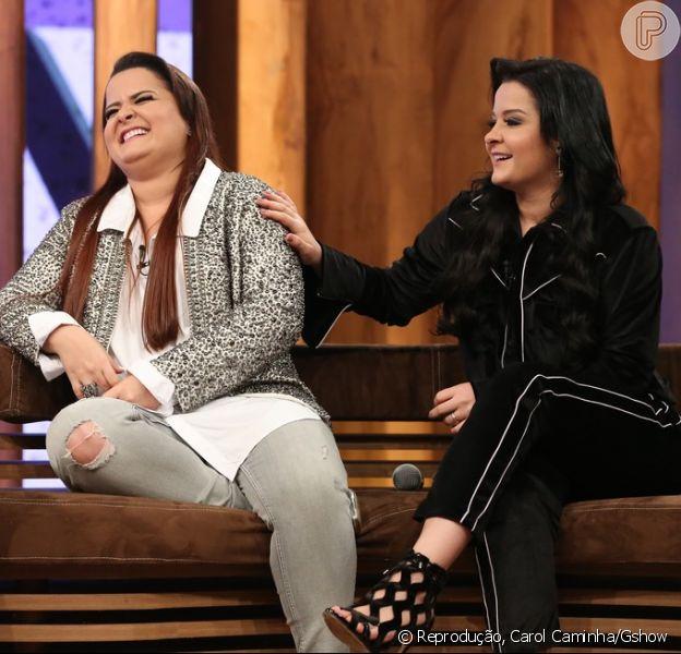 Maiara e Maraísa revelaram o valor de seu cachê por show no programa 'Conversa com Bial'