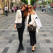 Marina Ruy Barbosa posa em Paris com look combinando com o da mãe: 'Orgulho'