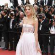 Lily Donaldson de Christian Diorno segundo dia do Festival de Cannes, no Sul da França, nesta quinta-feira, 18 de maio de 2017