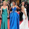 Robin Wright, Winnie Harlow, Adriana Lima e mais! Veja os looks do segundo dia do Festival de Cannes: