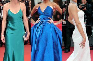 Confira os looks das famosas no segundo dia do Festival de Cannes. Fotos!