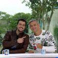 Otaviano Costa corrige Joaquim Lopez duas vezes no 'Vídeo Show': 'Esquece'