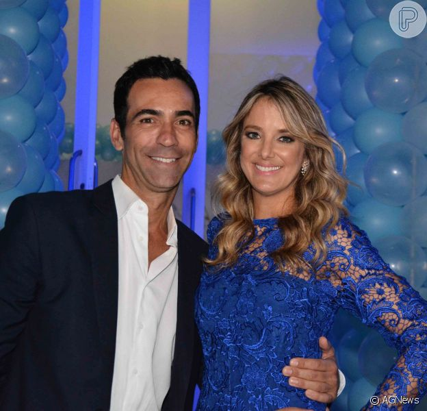 Ticiane Pinheiro e Cesar Tralli retomaram o namoro