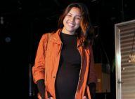 Grávida de 9 meses, Yanna Lavigne exibe barrigão em ida ao teatro. Fotos!