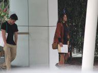 Bruno Gissoni leva Yanna Lavigne, grávida de 9 meses, para fazer exames