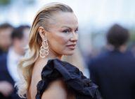 Penteado de Pamela Anderson deixa modelo irreconhecível em Cannes. Fotos!