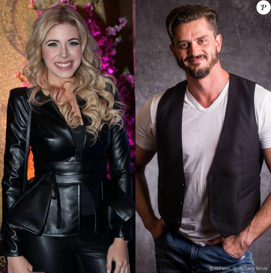 A apresentadora Danny Pink negou namoro com o ex-BBB Marcos no domingo, 21 de maio de 2017
