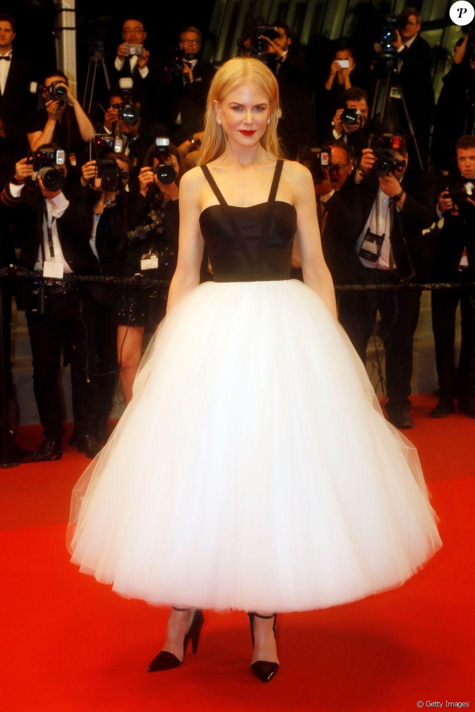 Nicole Kidman prestigia a exibição do seu novo filme 'The Killing of a Sacred Deer' no Festival de Cannes 2017, nesta segunda-feira, 22 de maio de 2017