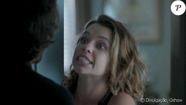Com uma capacidade de adaptação geminiana, Cibele (Bruna Linzmeyer) se transforma da noiva dócil em uma ex vingativa, na novela 'A Força do Querer'