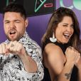 Nasser e Andressa foram eliminados na repescagem do 'Power Couple Brasil'
