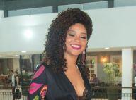 Juliana Alves, grávida de cinco meses, revela nome da filha: 'Iolanda!'