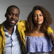 'Taís Araújo com cabelo solto não é reconhecida nas ruas', entrega Lázaro Ramos