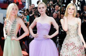 Looks de Elle Fanning se destacam no Festival de Cannes 2017. Fotos!