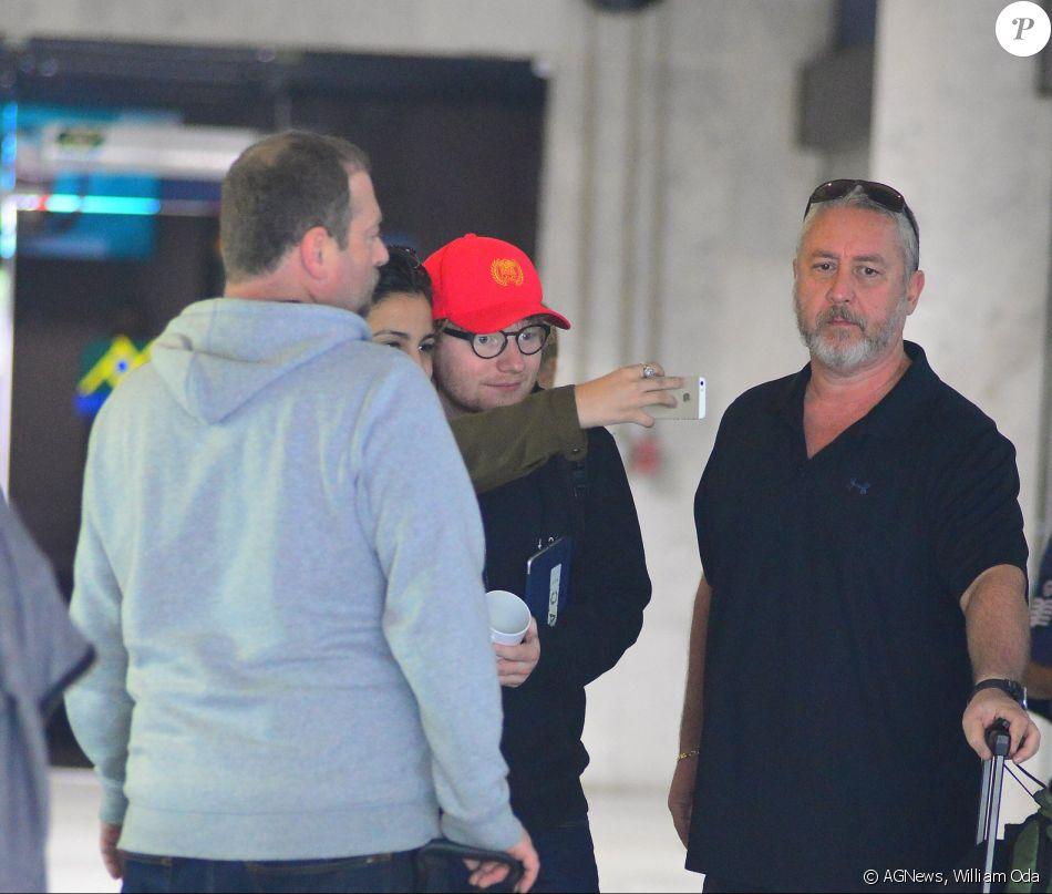 Ana Furtado leva sua filha para conhecer Ed Sheeran