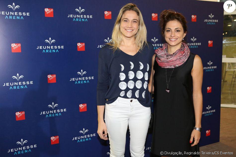 Fernanda Gentil levou a namorada, Priscila Montandon, no show de Ed Sheeran, no Rio, na última quinta-feira, 25 de maio de 2017