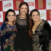 Agatha Moreira tieta Maiara e Maraisa em show:'Vestido delas rasgou minha meia'