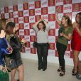 Maiara e Maraisa brincam com fãs famosos nos bastidores do show no Rio