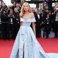 Elsa Hosk deAlberta Ferrettina 70ª edição do Festival de Cannes, realizado no Sul da França