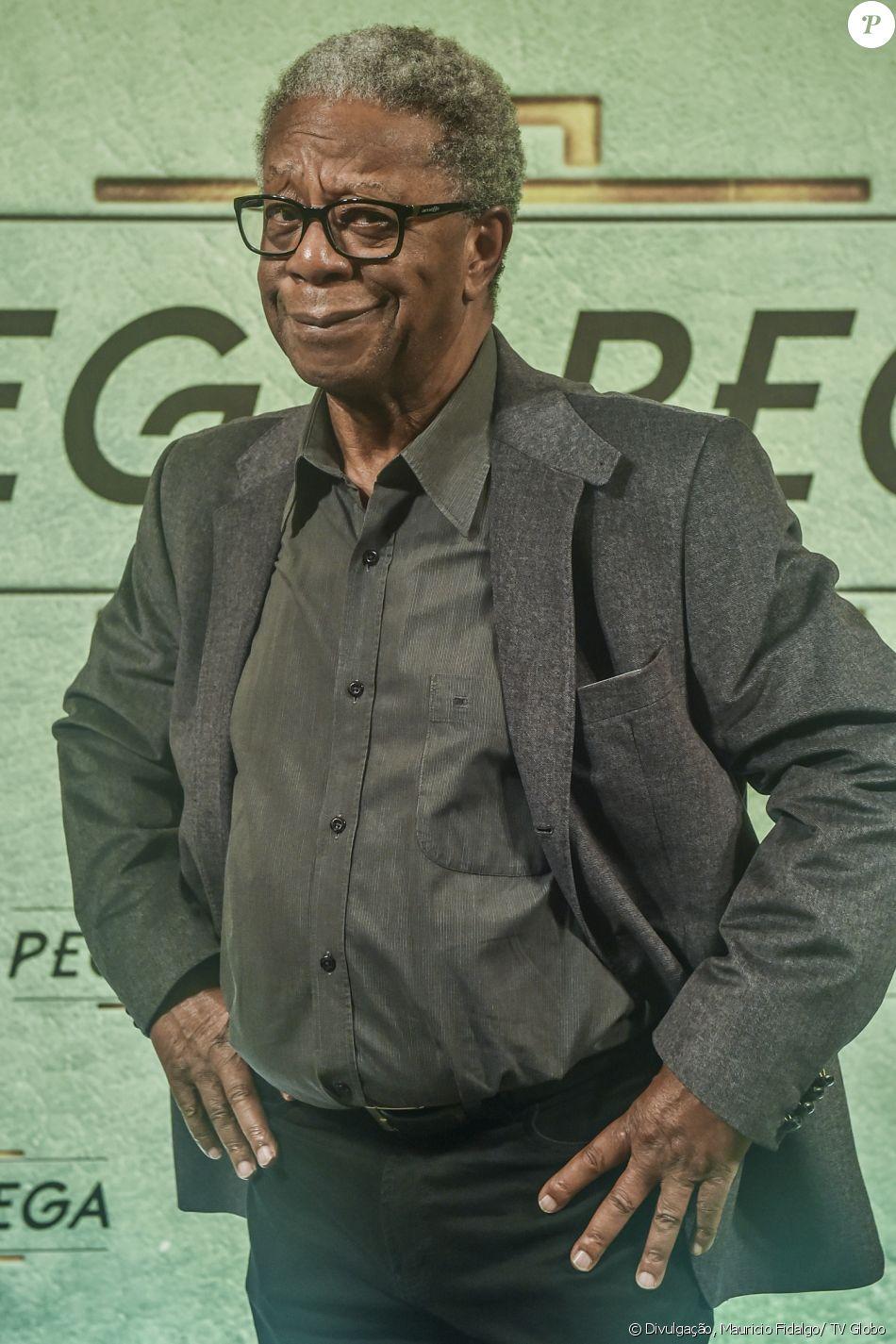 Milton Gonçalves é Cristóvão, na novela 'Pega Pega'