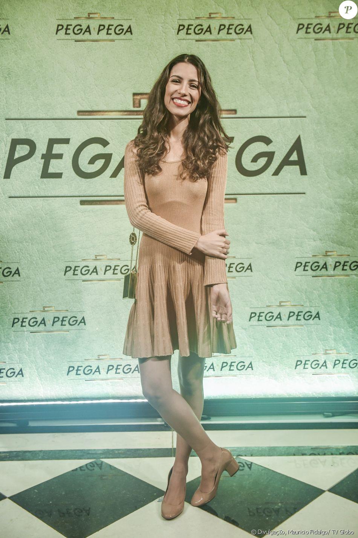Marina Rigueira é Mirella, na novela 'Pega Pega'