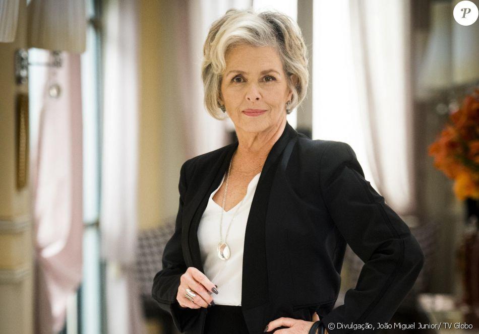 Irene Ravache é Sabine Favre na novela 'Pega Pega'