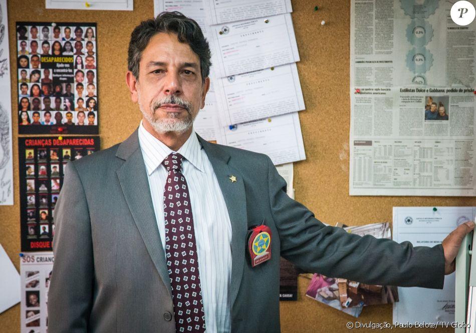 Marcello Escorel é o Delegado Siqueira na novela 'Pega Pega'