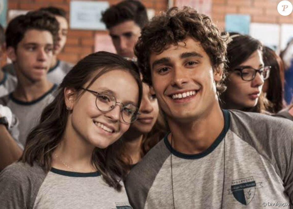 f1f63915ed2df Par de Larissa Manoela em filme  Meus 15 Anos , Bruno Peixoto lembra ...