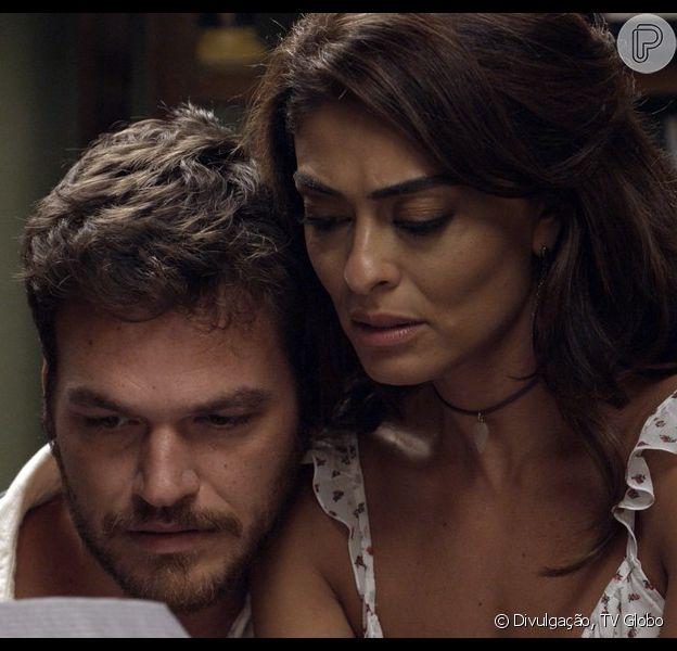 Em 'A Força do Querer', Bibi (Juliana Paes) ajuda Rubinho (Emílio Dantas) a fugir da prisão mas plano fracassa