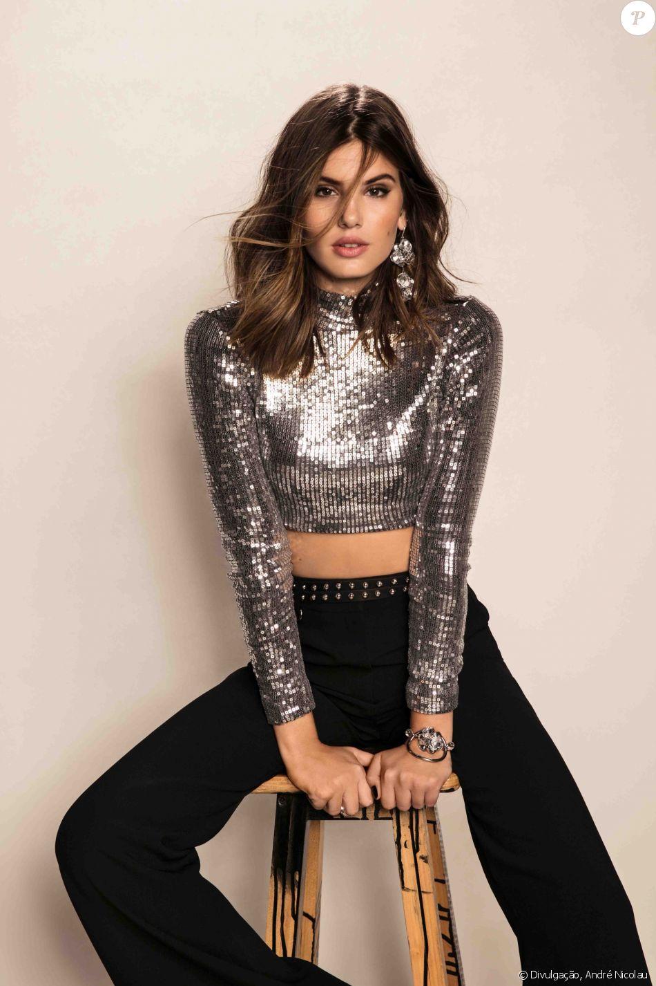 Camila Queiroz, namorada do ator Klebber Toledo, falou da vontade de ser mãe à revista ' Cosmopolitan'