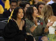 Rihanna ganha encarada de jogador de basquete após xingá-lo durante jogo da NBA