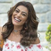 Juliana Paes conta que nunca sofreu por amor como Bibi: 'Terminou? Beijo!'