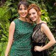 Bianca (Mariana Vaz) e Vanessa (Lorena Comparato) vão terminar a novela 'Rock Story' morando juntas