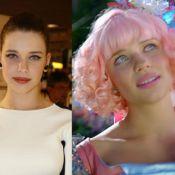 Bruna Linzmeyer pinta o cabelo de rosa para nova novela. Confira transformações!