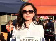 Monica Iozzi e Mel Lisboa participam de protesto pelas Diretas Já em São Paulo