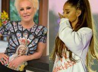 Ana Maria Braga erra nome de Ariana Grande ao vivo e web comenta gafe: 'Micão'